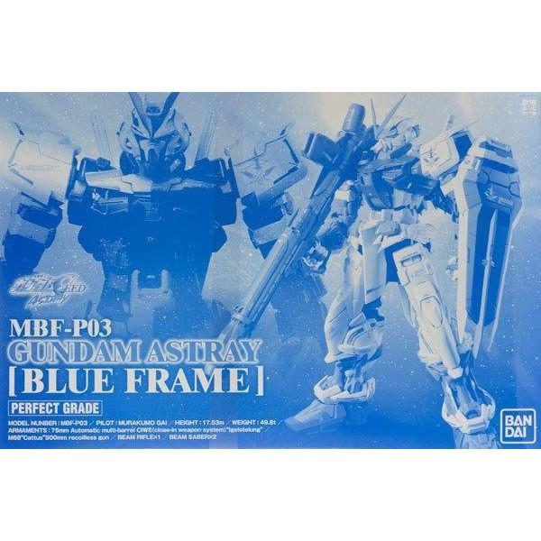 BANDAI 正版 魂商店限定 PG 1/60 GUNDAM ASTRAY BLUE FRAME 藍異端鋼彈 全新現貨