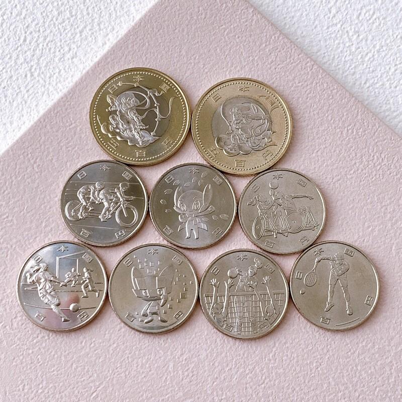 (現貨)奧運紀念幣 東京奧運 風神 火神 2020年 奧林匹克 紀念幣 百元紀念幣