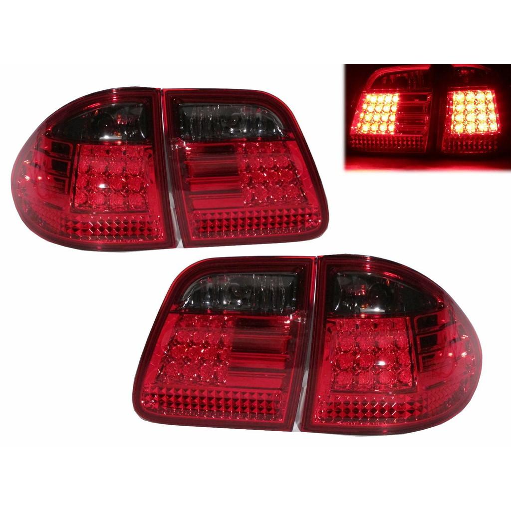 卡嗶車燈 Benz 賓士 E-CLASS W210/T210 1995-2002 五門車 LED 尾燈