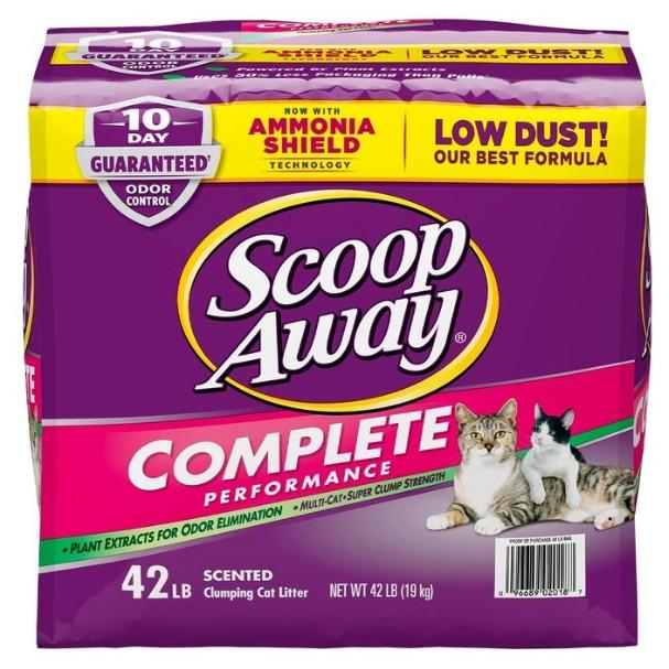 現貨不用等 可刷卡 Scoop Away 超凝結貓砂 紫包 19公斤 好市多代購