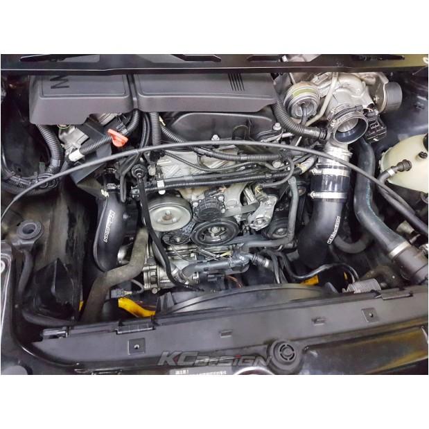 依馳國際 KC-DeSiGN 金屬渦輪管 BMW N13 鋁合金渦輪防爆管(組) BMW F30 3-Seires