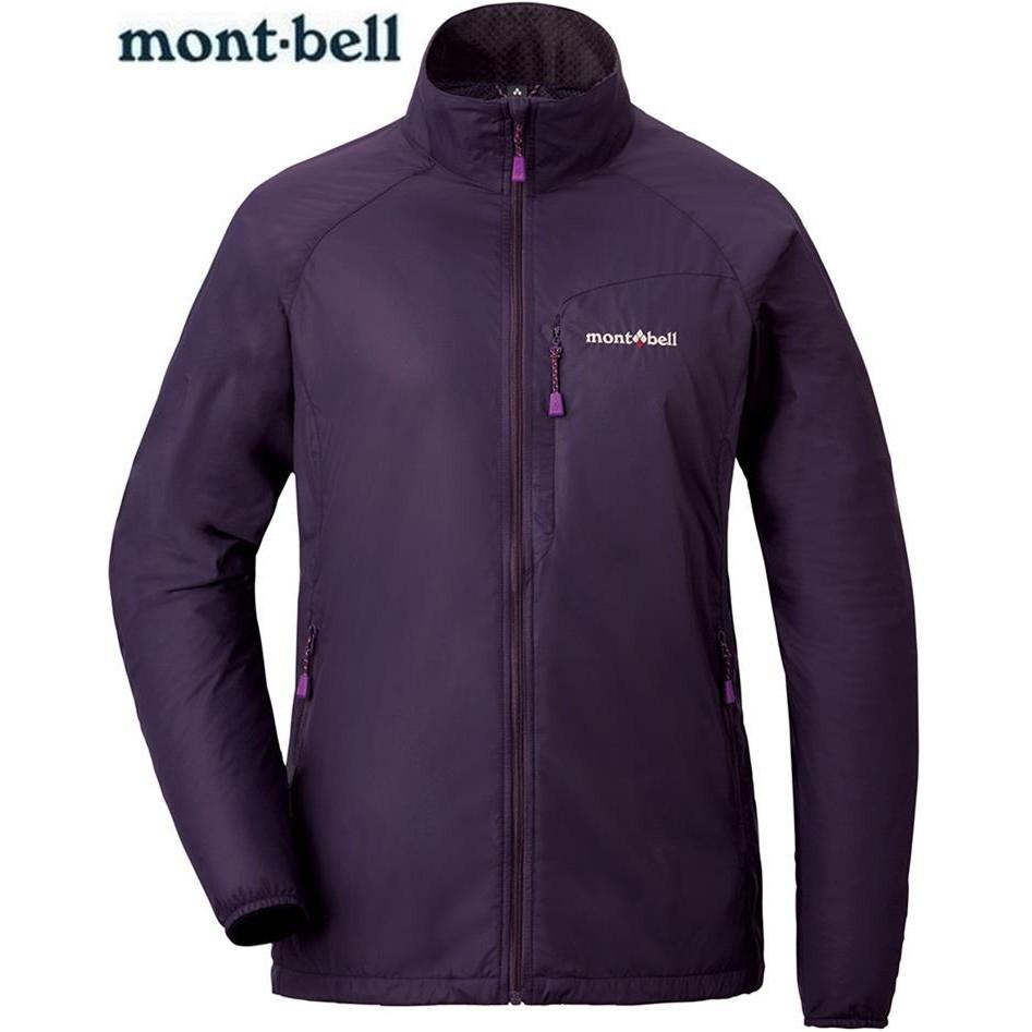 Mont-Bell 風衣外套/登山外套/風衣夾克 Light Shell Outer 1106648 女款 EP 茄紫