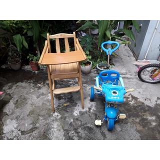 二手兒童實木餐桌(1-5歲)