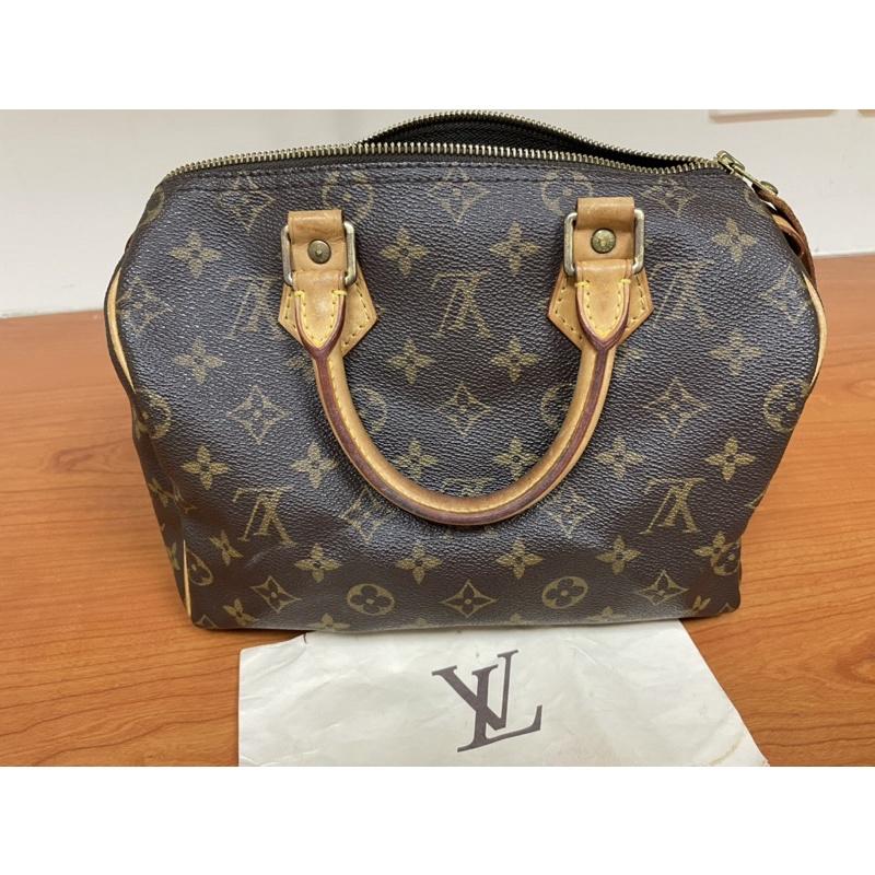 LOUIS VUITTON Speedy 25 handbag/正貨/二手
