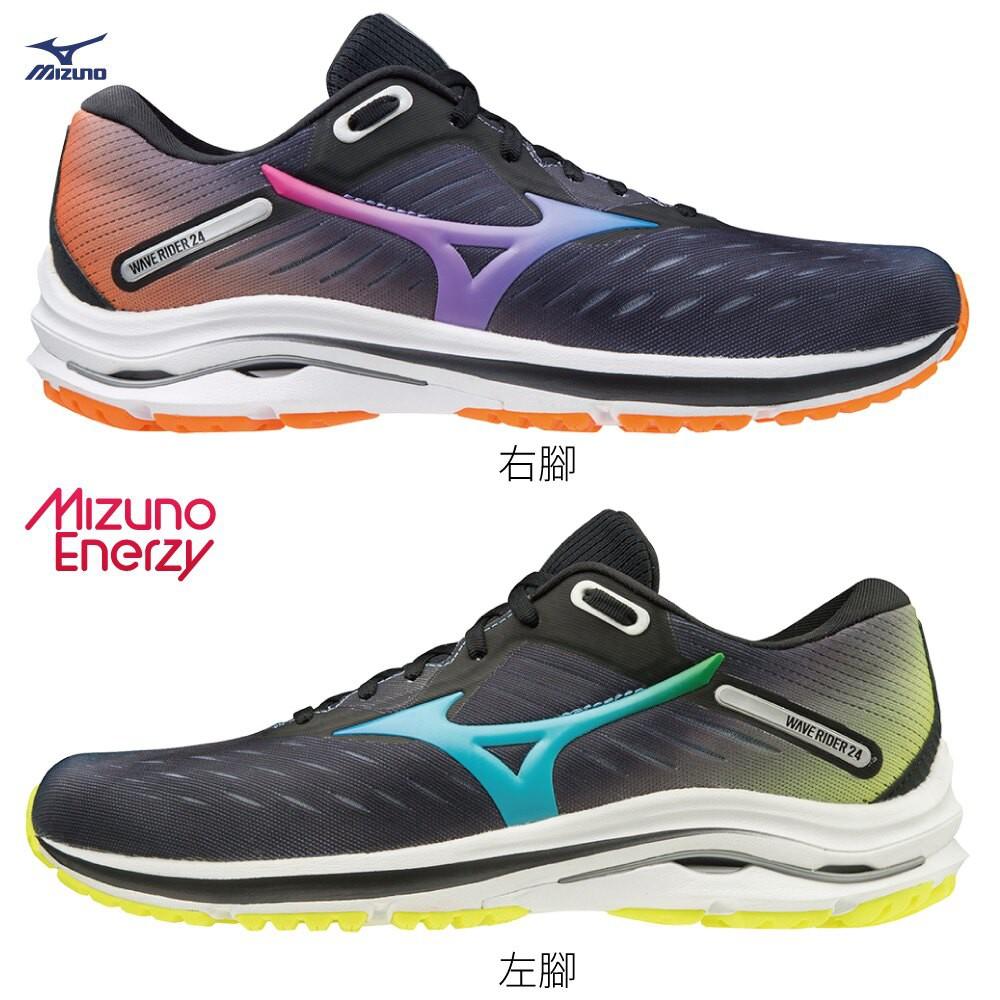 MIZUNO WAVE RIDER 24 OSAKA 男鞋 女鞋 慢跑 4面色系 彩【運動世界】J1GC200818