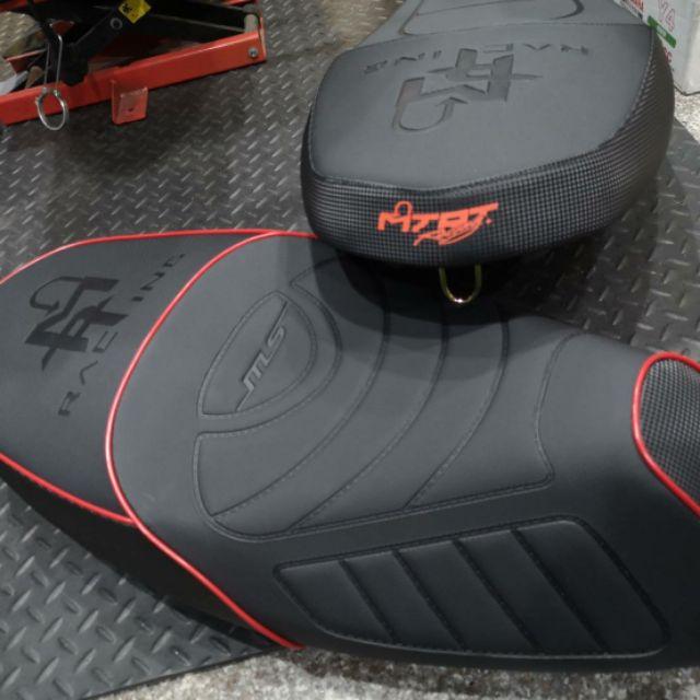 【XN】MTRT沙發坐墊/椅墊 非開模件需交換 原廠型/沙發型(黑/紅) 勁戰一~三代/JETS/雷霆S/新G6/VJR