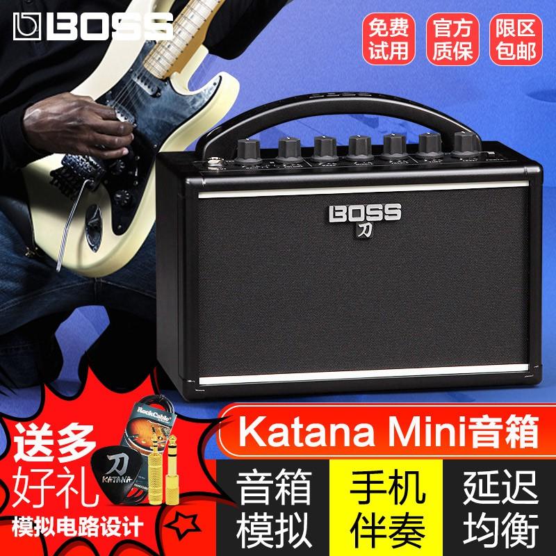 羅蘭BOSS刀吉他音箱KATANA MINI便攜式搖滾電吉他音響帶延遲混響amelia.tw