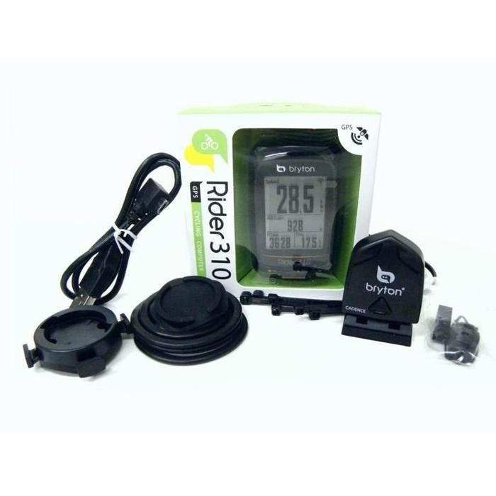 彰小弟自行車 Bryton Rider310C USB 智能藍芽中文GPS自行車訓練記錄器 碼表 碼表+踏頻