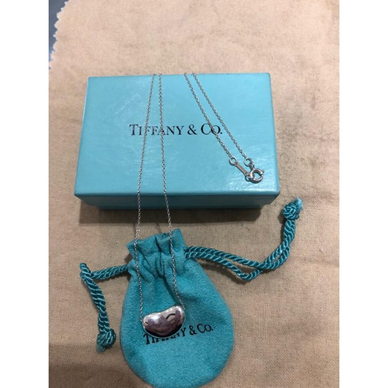 Tiffany&Co 925 純銀大款相思豆項鍊
