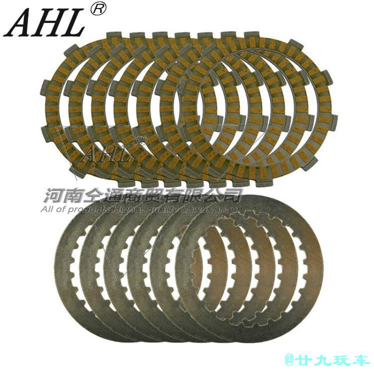【台灣廿九摩配百貨】AHL適配本田CRM250 CRM250 AR250離合器片 膠木片 鐵片 鋼片 一套