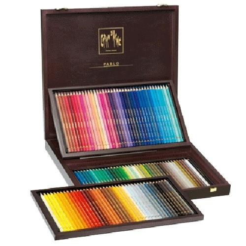 瑞士Caran d'Ache卡達 專家級PABLO油性120色彩色鉛筆木盒*666.920