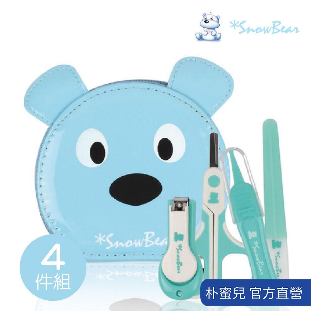 【韓國雪花熊SnowBear】3+1幼兒專用指甲剪套組