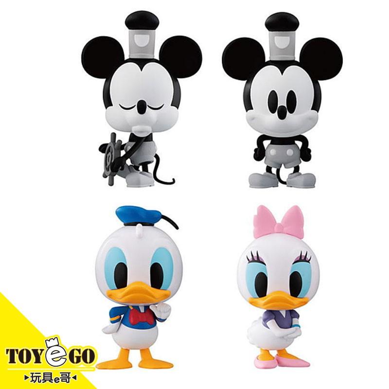 BANDAI 迪士尼 轉蛋 蒸汽船威利號 米奇&唐老鴨&黛西 一套四種販售 玩具e哥 41759