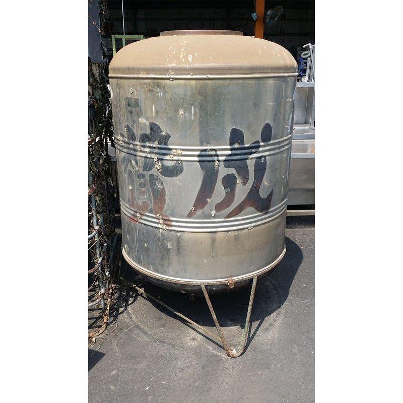 [龍宗清] 贊成白鐵水塔(鐵腳) (17082601-0003) 1T 1000L ST水塔 不銹鋼水塔 不鏽鋼水塔 立