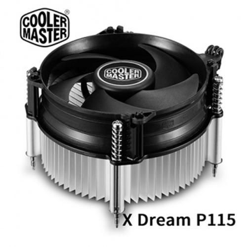 Cooler Master 酷碼 X Dream P115 下吹式 Intel專用 CPU散熱器 支援LGA 1200