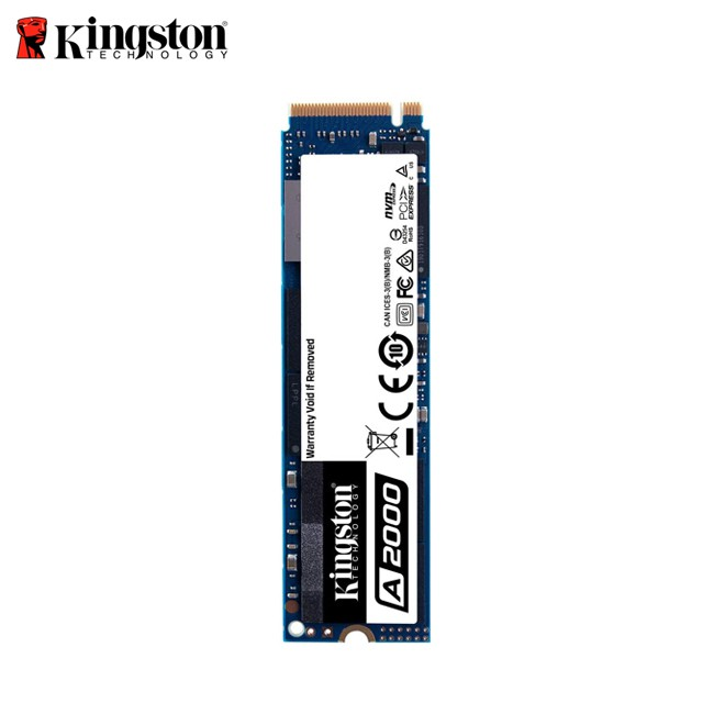 金士頓 Kingston 250G 500G 1TB A2000 NVMe PCIe M.2 2280 SSD 固態硬碟