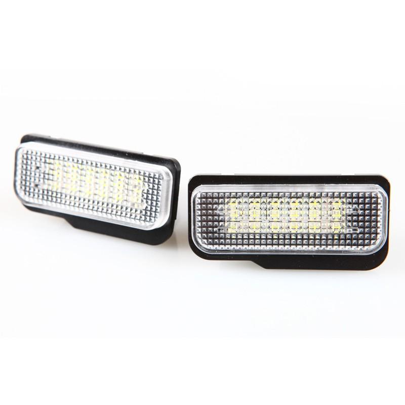 Mercedes Benz 賓士 C-Class W203 W211 W219 適用 LED後牌照燈 車牌燈