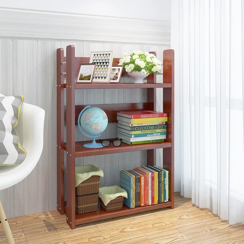 簡易書架置物收納架學生書架書房辦公室簡約書架桌面小架子