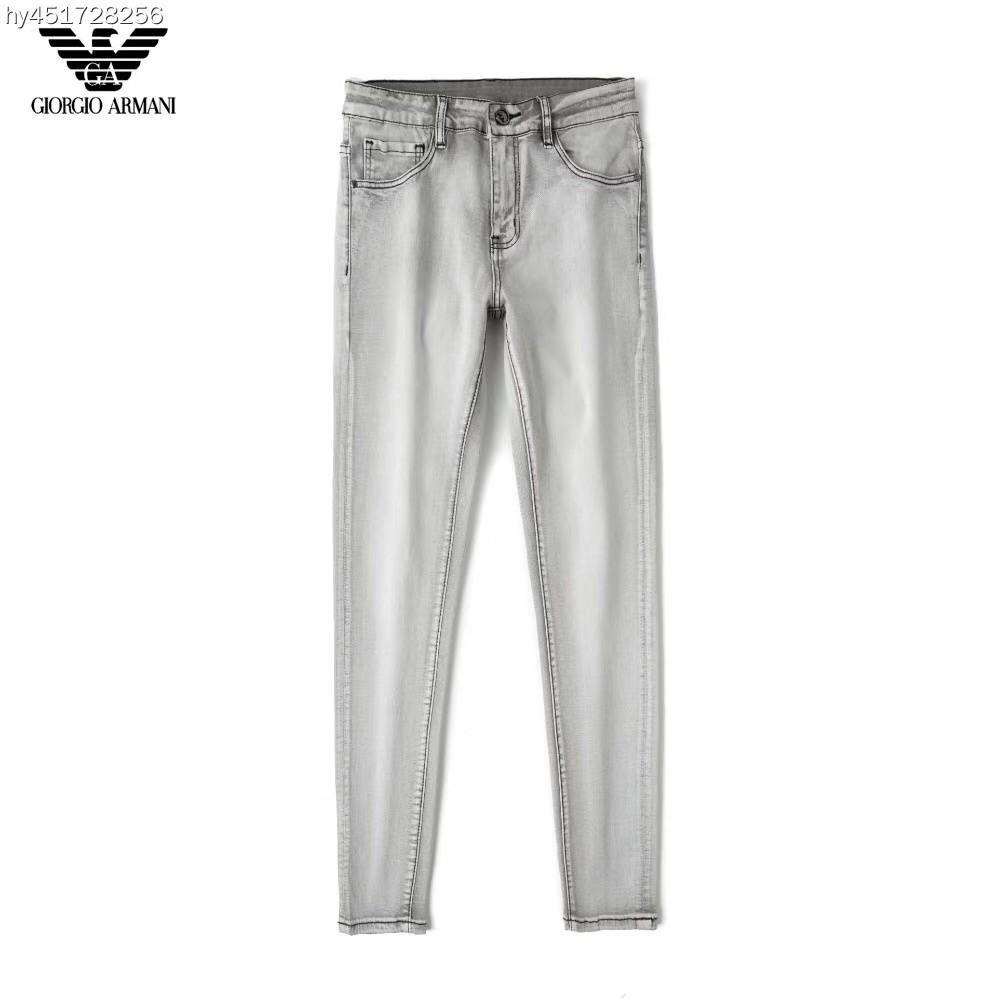 新款Armani牛仔褲 阿瑪尼牛仔褲 Armani水洗牛仔褲 男士休閒牛仔長褲 褲子 Armani褲子 丹寧牛仔褲 長褲