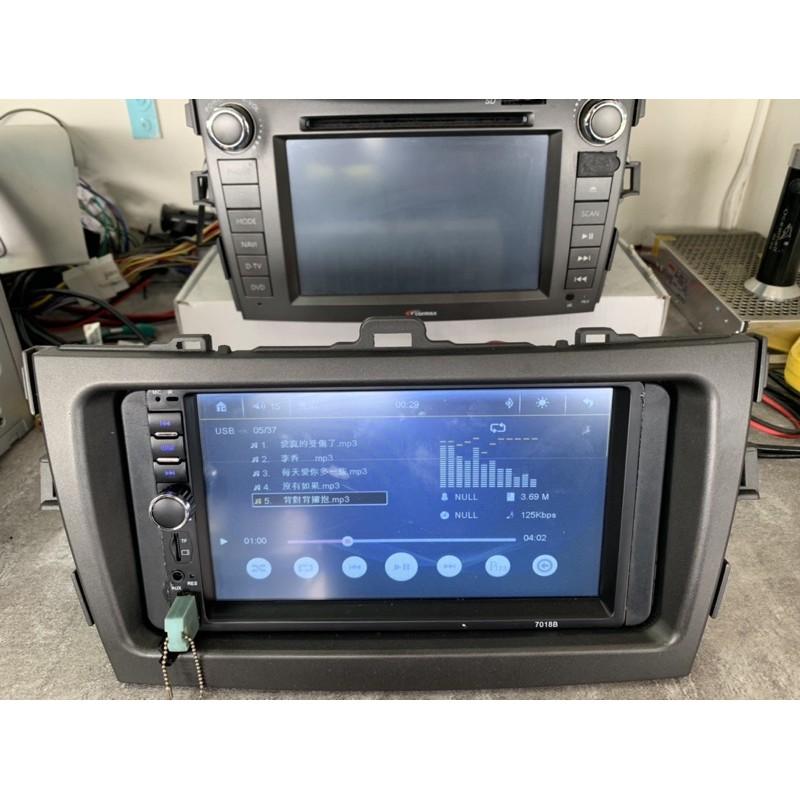 TOYOTA 豐田 ALTIS 10代-10.5代08-13年用《7吋音響主機含面板框》