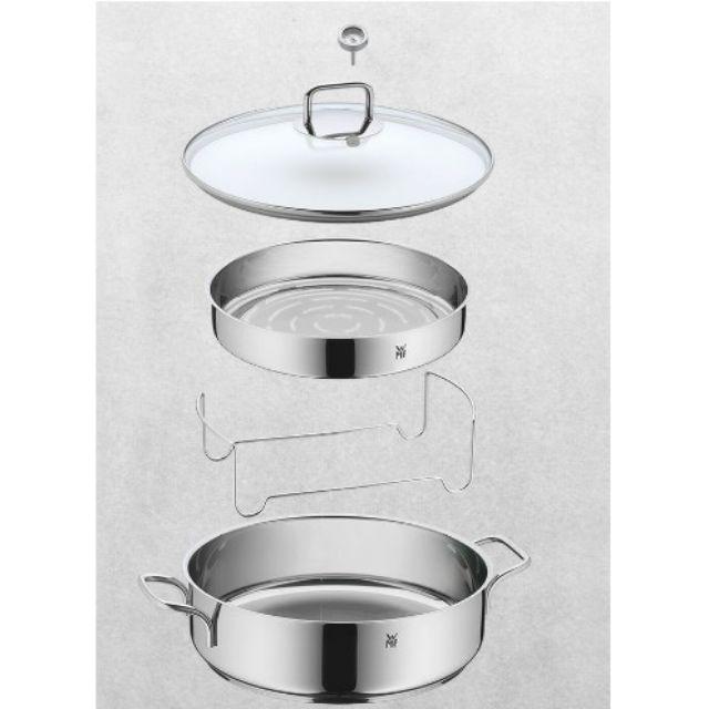 德國精品廚具WMF 多功能萬用鍋 (附嵌入式溫度計、蒸屜、蒸架)