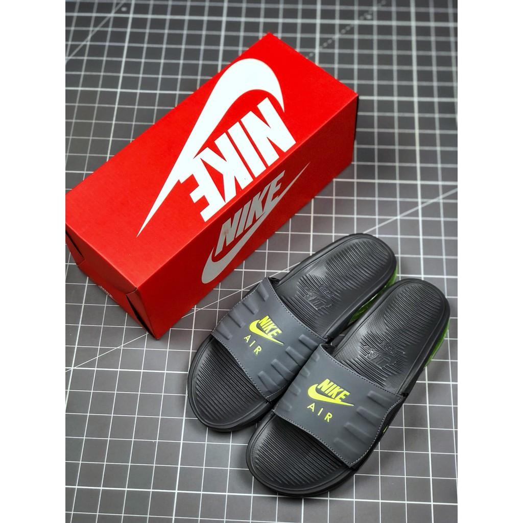 """耐克/Nike Air Max Camden Slide""""Black/White""""卡姆登气垫系列休闲运动沙滩拖鞋"""