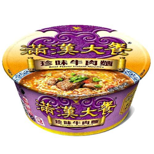 統一 滿漢大餐 珍味牛肉麵(碗裝) 187g【康鄰超市】