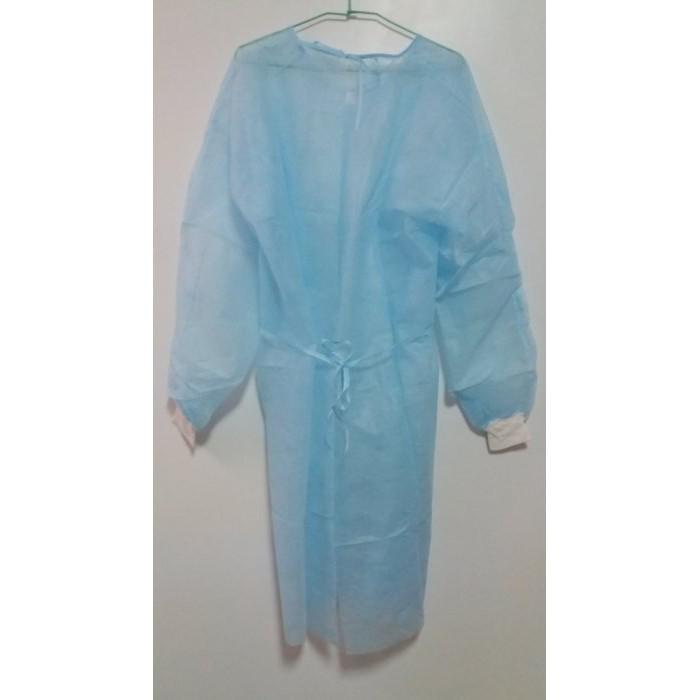 拋棄式罩袍式不織布隔離衣