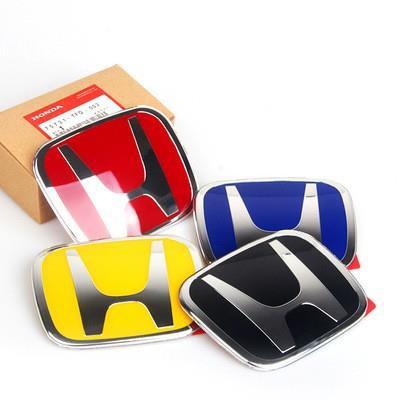 【樂樂精品】[現貨]本田喜美 Honda CRV2代2.5代3代3.5代 4代 4.5代4代 5代 紅H 標誌 前標 後
