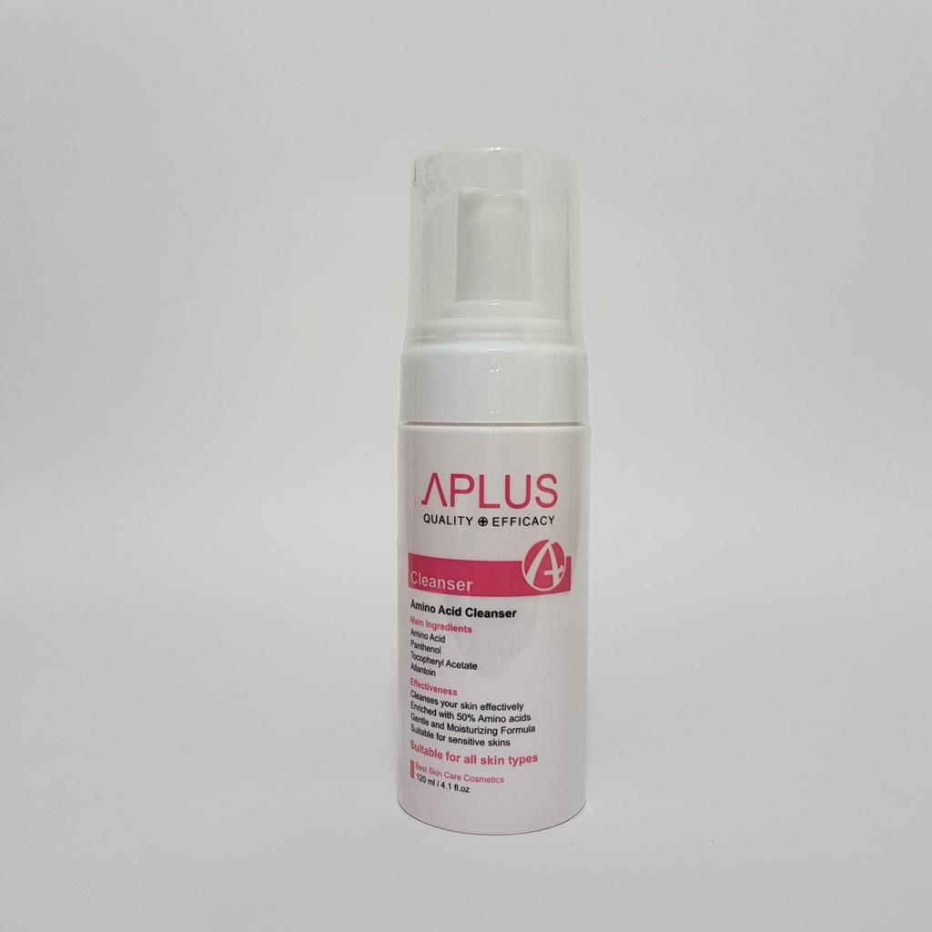 A+胺基酸保濕潔面慕斯120ml