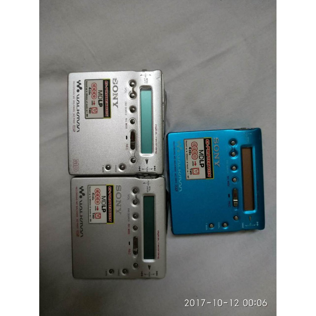 索尼 新力 SONY MZ-R900 MD 播放機 錄音機 比MP3 MP4音質更好 錄音 9成新