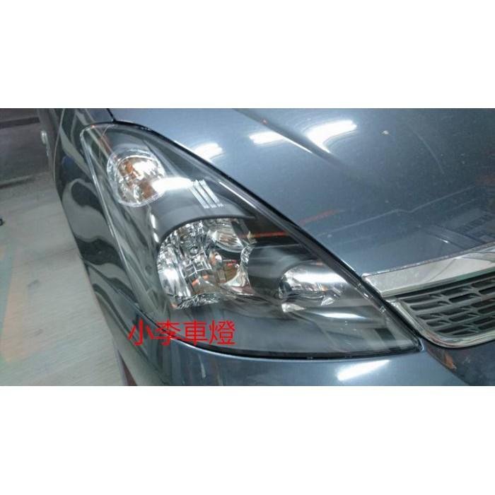 全新品 外銷 日規 豐田 TOYOTA WISH 04 05 06 原廠型 黑框大燈 一組4000元