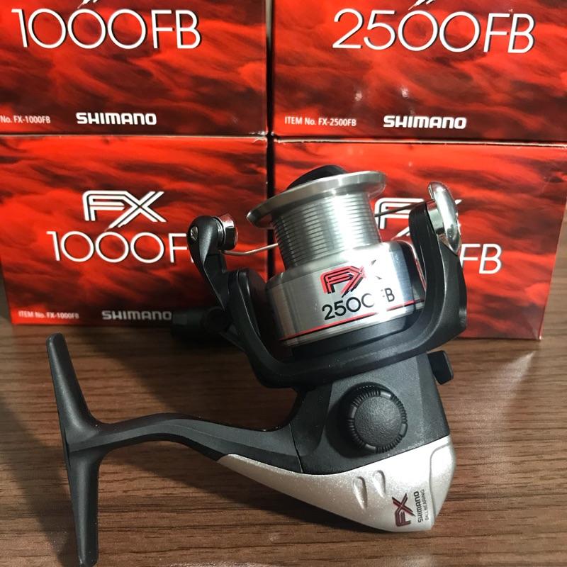 豪威釣具-shimano FX捲線器1000/2500/4000型