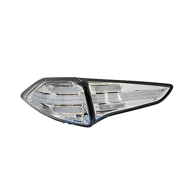 ~~ADT.車燈.車材~~現代 TUCSON 15 16 17 18 類 凱燕 LED 光柱 導光 尾燈 透明殼