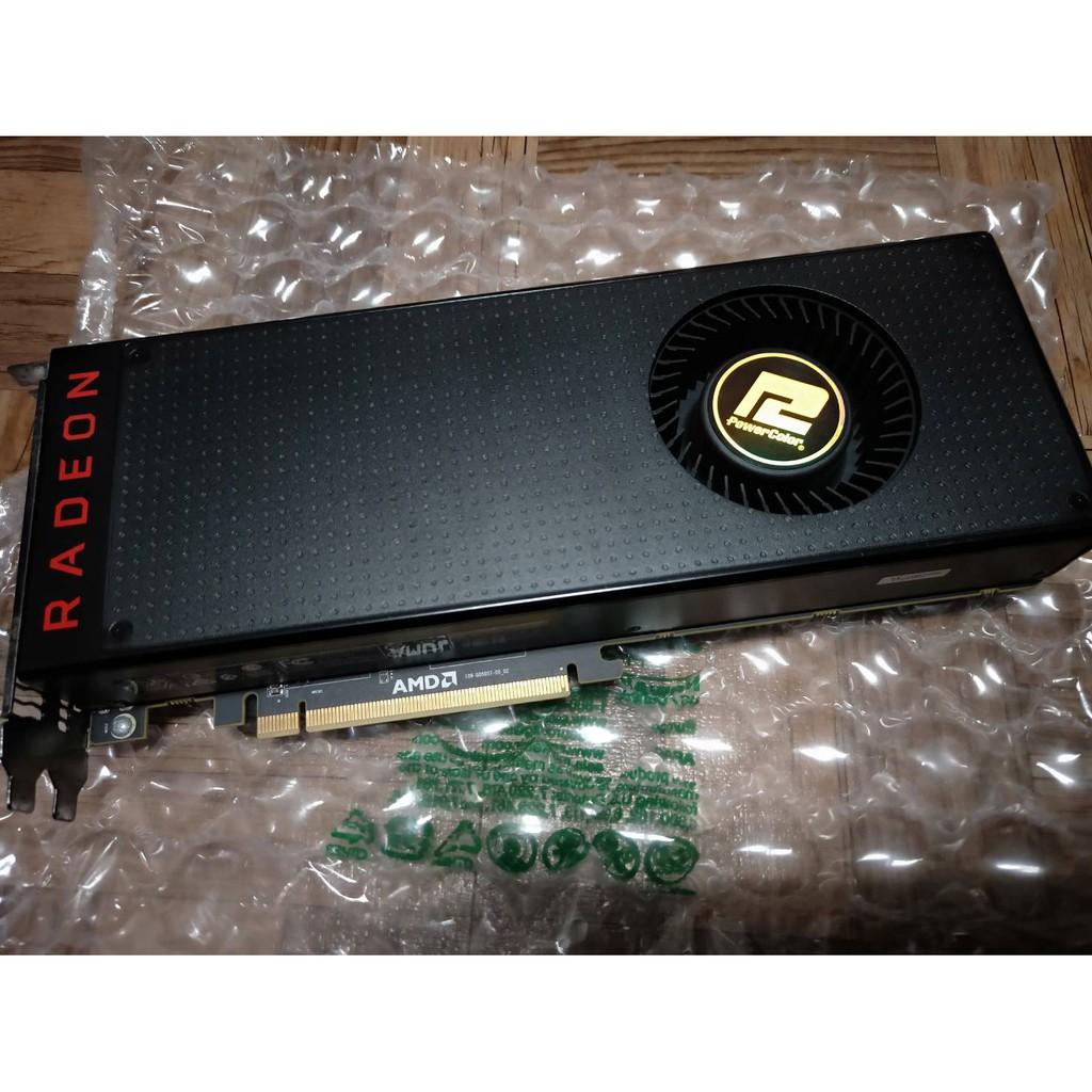 撼訊RADEON RX VEGA 64 8G (效能同等GTX1080、RX5700 超越RTX2060) 顯示卡
