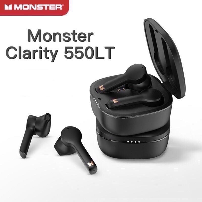 🇹🇼台灣現貨⚡️當天寄出🔥 MONSTER魔聲 藍牙耳機 Clarity 550LT IPX5 防水 降噪 正品