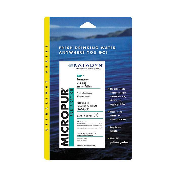 KATADYN MICROPUR MP1 淨水錠  濾水錠 30錠 (增加淨水器的效果)
