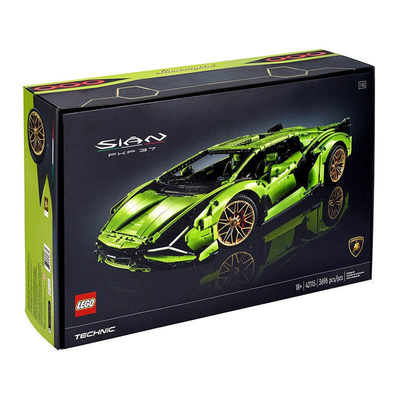 一凡/LEGO樂高積木機械組Technic系列 蘭博基尼跑車42115