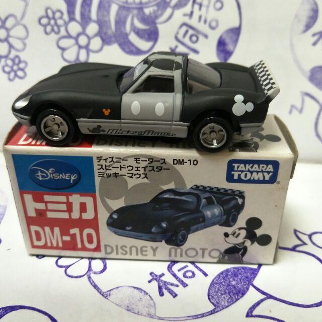 (現貨) Tomica 多美   DM-10黑白米奇消光跑車
