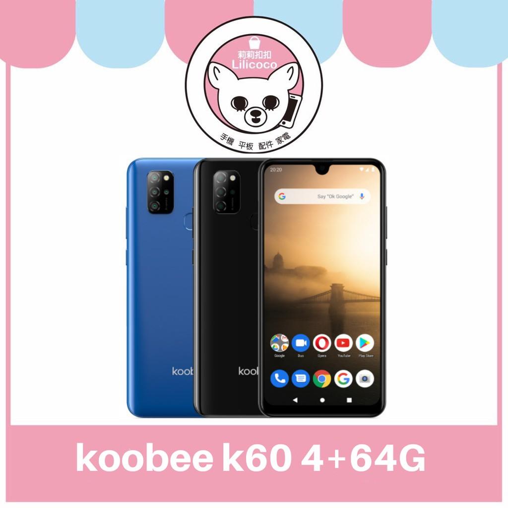 koobee K60 (4+64G) 藍黑色