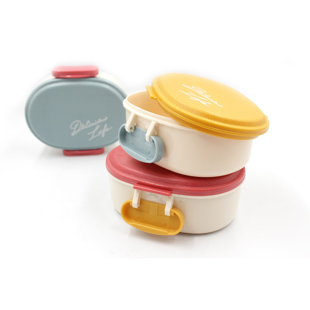 日本木質風保鮮盒260ml/480ml - 共6款《WUZ屋子》日本製 便當盒 水盒盒 密封