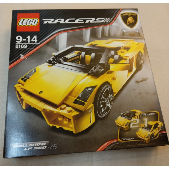 LEGO 樂高 8169 藍寶基尼 Racers Lamborghini Gallardo LP 560-4