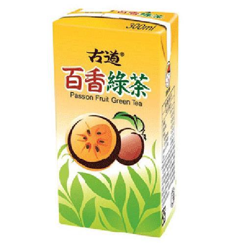 古道 百香綠茶(300mlx6包)[大買家]