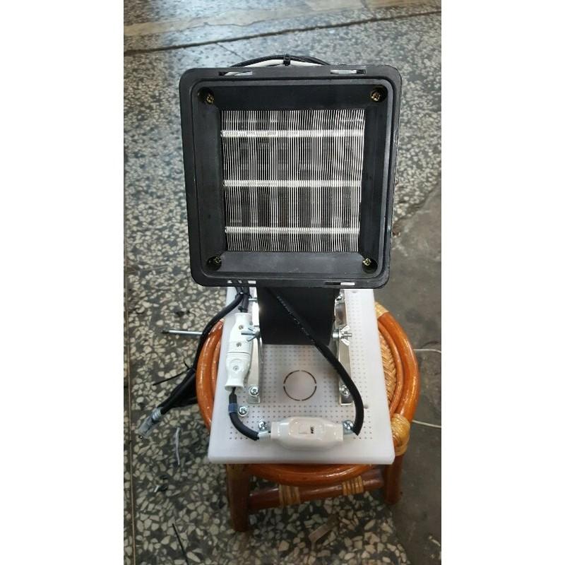 [多元化風扇風鼓]天冷必備手提式PTC陶瓷熱風機 電暖器 手工組裝 可上下調整吹角1300w風程遠~工業級改裝(室內外