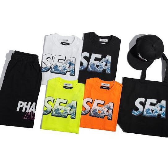 【ToMo】PHANTACi  x WIND AND SEA 聯名短TEE&短褲&後扣帽&托特包