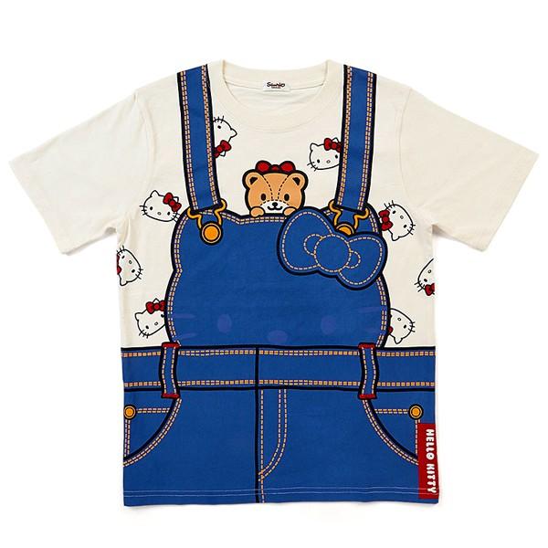 Hello Kitty三麗鷗家族圓領短袖棉T(FREE SIZE)/T袖/短袖T恤/今日最便宜/貨到付款/現貨
