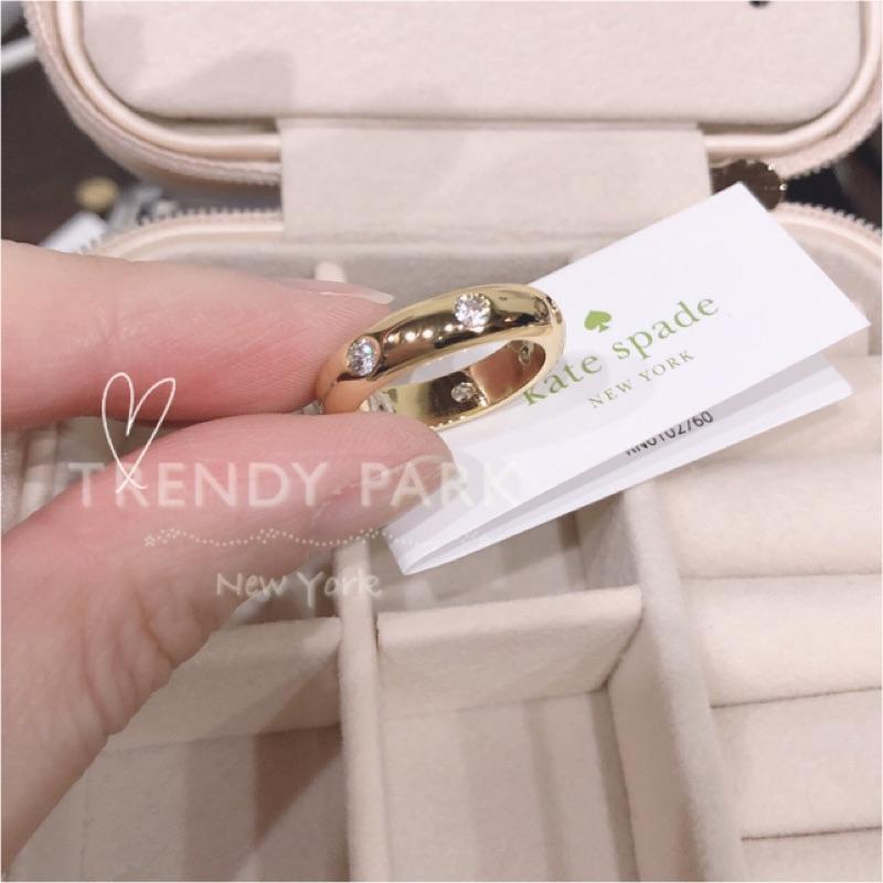 超甜美 現貨在台Kate Spade KS 鑲鑽戒指