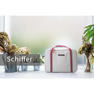【NaSaDen】雪佛包-肩背/手提/穿套行李箱-三用超質感時尚收納包/收納袋/行李袋-相當一個16吋的行李箱-氣質白