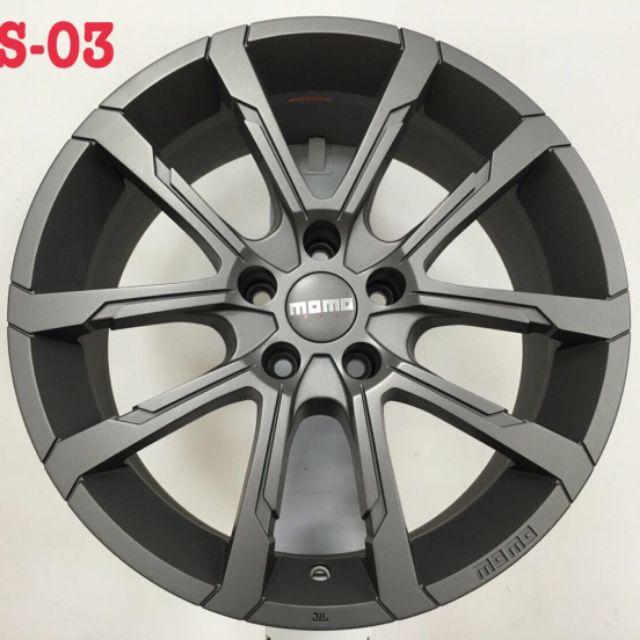 MOMO RS03 17吋5-108鐵灰色鋁圈~V40 S60 V60 FOCUS(88不是商品售價 請洽詢)