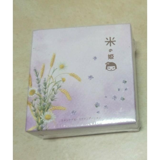mono購物 日本米之姬革命性養膚面膜粉底-自然色